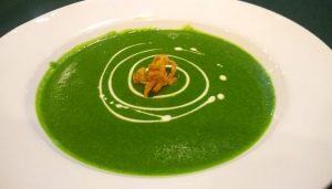 Spinach Green Pea Soup