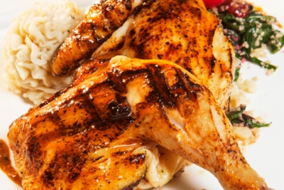 Grilled 1/2 Chicken