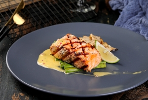 Grilled Norwegian Salmon